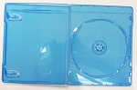 100 Blu-ray Slim Cases 6mm Single Disc #BLUSLIM6