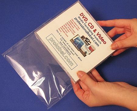 Cd Jewel Case Shrink Wrap 100 Opp Self Seal Bags Cd104mm