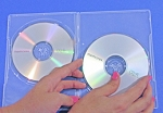 Clear DVD Double Disc Slim Thin 7mm Cases 100 DVD7DDC