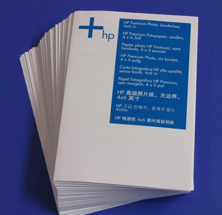 Hp Premium Photo Paper Glossy 4 X 6 Inches Borderless 100