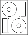 Prolabel CD DVD Blu-ray Matte Labels compare to Memorex #M4540