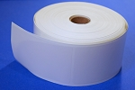 Clear Vinyl Seal Sticker Labels 4 x 2.25 Inches 500 per roll CLR4225V