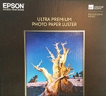 Epson Ultra Premium Photo Paper LUSTER 50 Sheets 240 g/m Letter Size 8.5 x 11 S041405