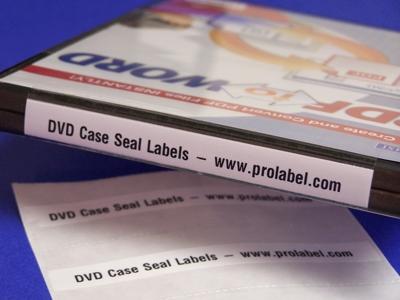 dvd case seals custom printed 250 4 x 1 25 labels 1348qp