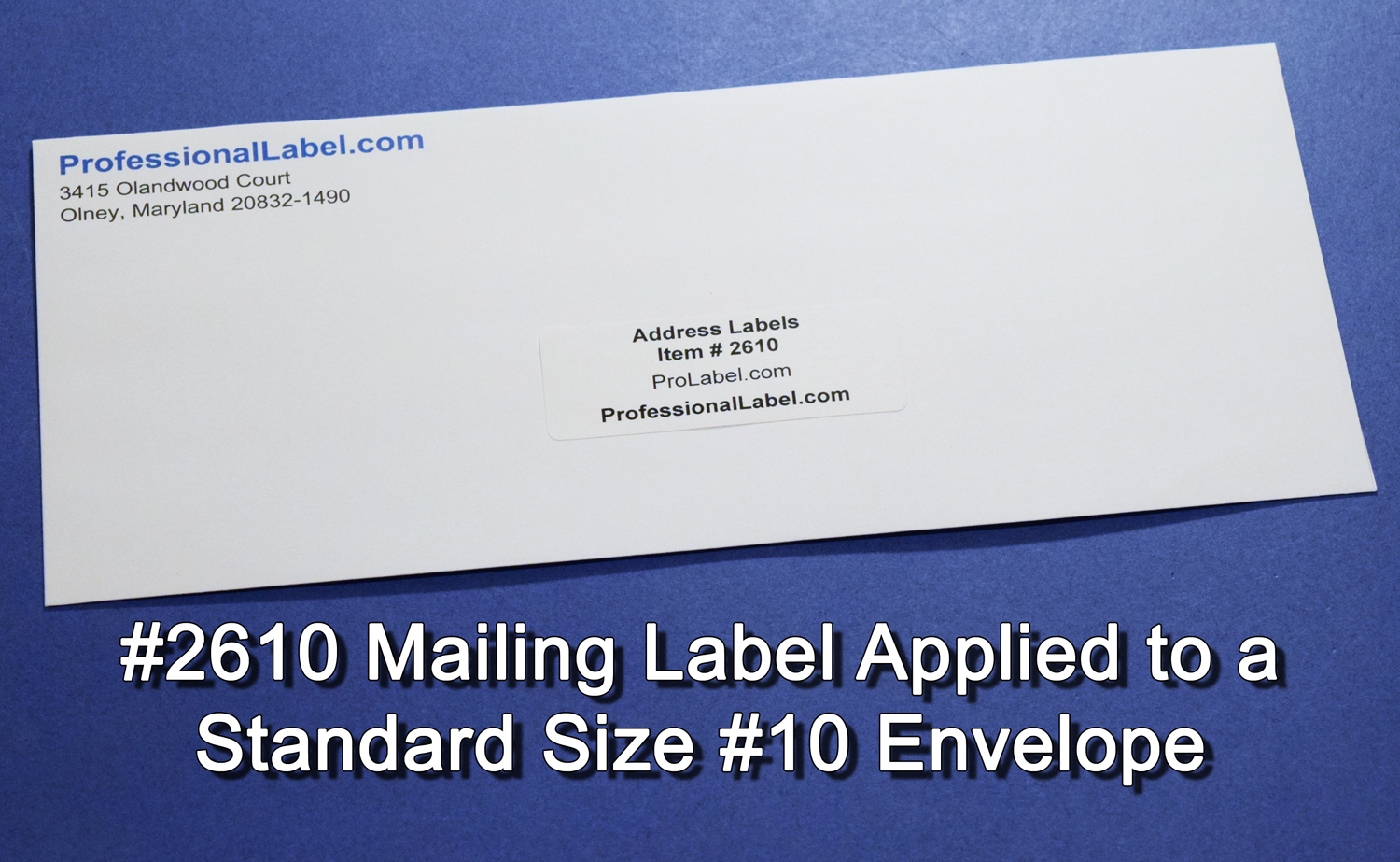 mailing labels matte white 2 5 8 x 1 30 up 250 sheets 2610