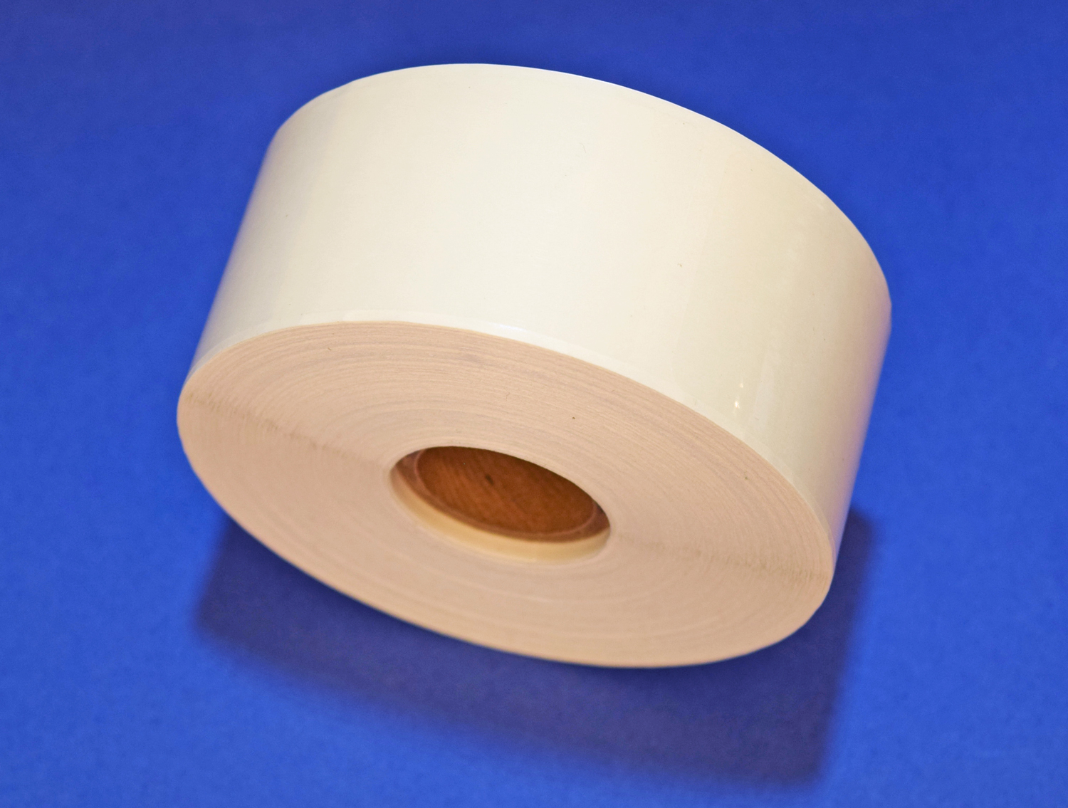 "1/""x 2/"" Rectangle Square Crystal Clear Retail Package Seals Circle 500 Per Roll"