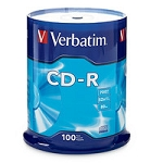 Verbatim CD-R 52x 100 pack #94554