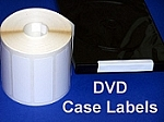 White Seal Labels 4 x 1.5 inches 500 per roll WH415V