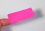 2 5/8 x 1 Fluorescent Pink Labels  50 sheets P2610