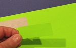 Fluorescent Green Labels 1 x 2 5/8 Inch 50 sheets GR2610