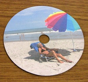 CD DVD Blu-ray Full Face Matte Laser Inkjet Disc Labels 100 shts 4060M