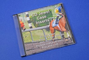 CD Jewel Case Photo Quality Matte Insert Booklets 25 Sheets CD912PM