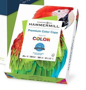 Hammermill Color Copy Paper 8.5 x 11 50 Sheets 28LB Item Number 102467